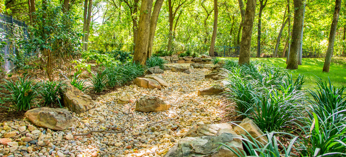 TLC Landscaping | Rock River Bed