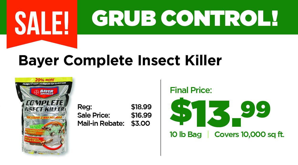 Grub Control Sale