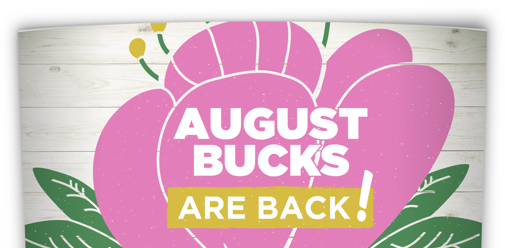 TLC Garden Centers | August Bucks Loyalty Program