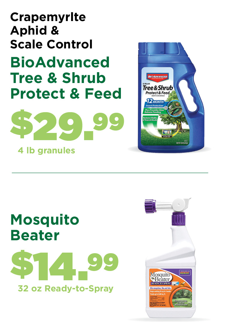 BioAdvance and Mosquito Beater | TLC Garden Centers