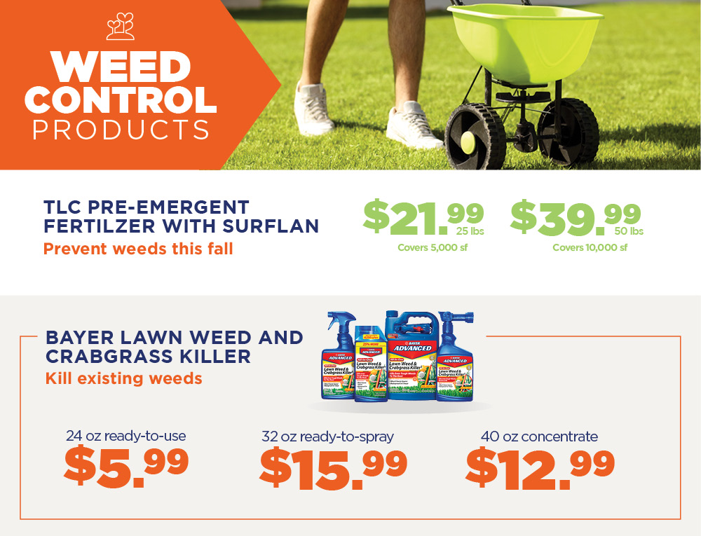 Weed Control Products | TLC Garden Centers