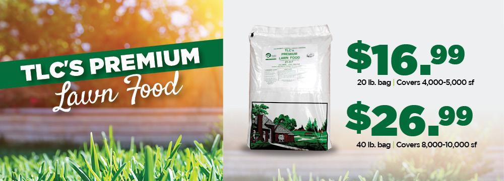 Premium Lawn Food | TLC Garden Centers