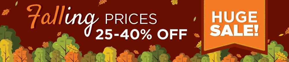 Falling Prices | Huge Sale | TLC Garden Centers