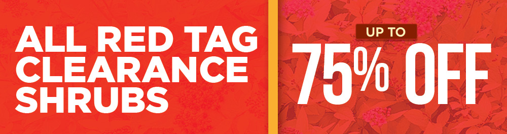 Red Tag Clearance | TLC Garden Centers