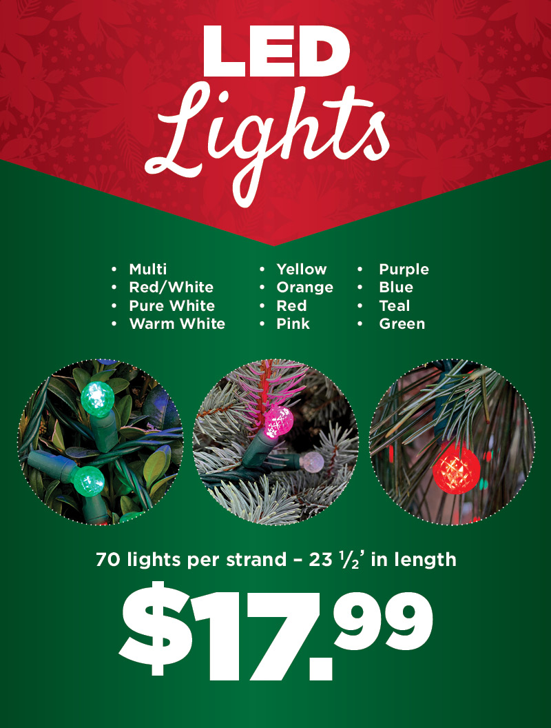 LED Lights | TLC Garden Centers