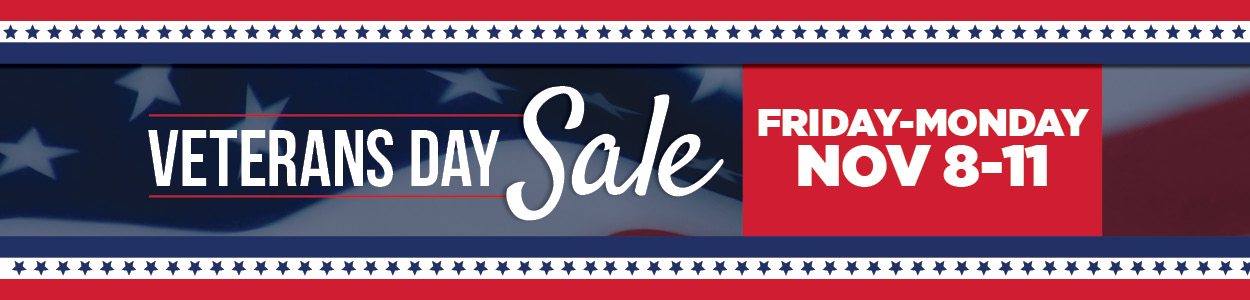 Veterans Day Sale   TLC Garden Centers