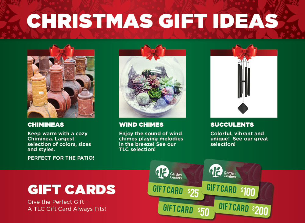 Christmas Gifts   TLC Garden Centers