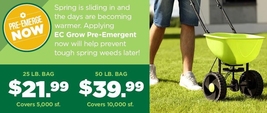 Pre-Emerge | TLC Garden Centers