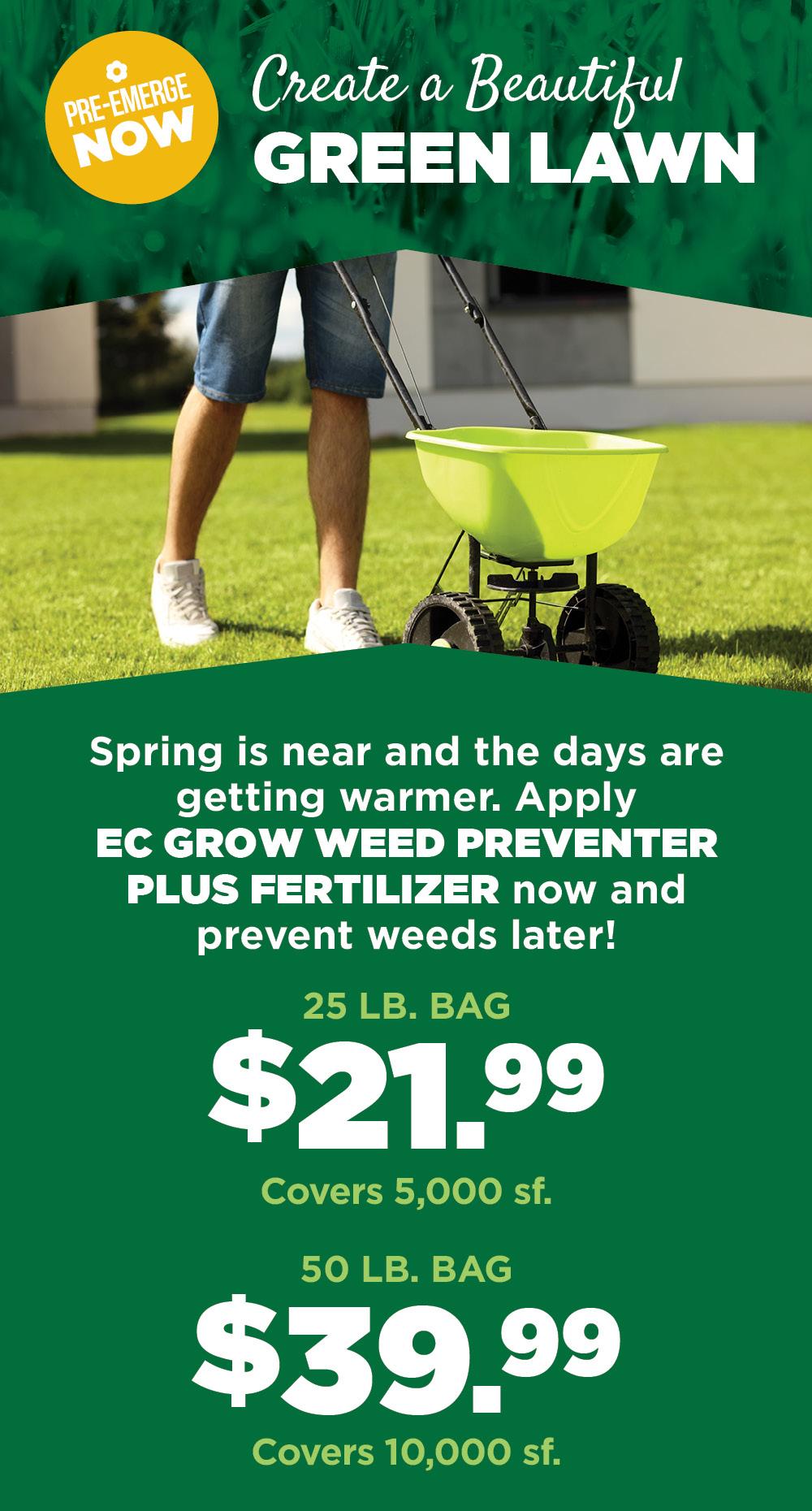 EC Grow | TLC Garden Centers