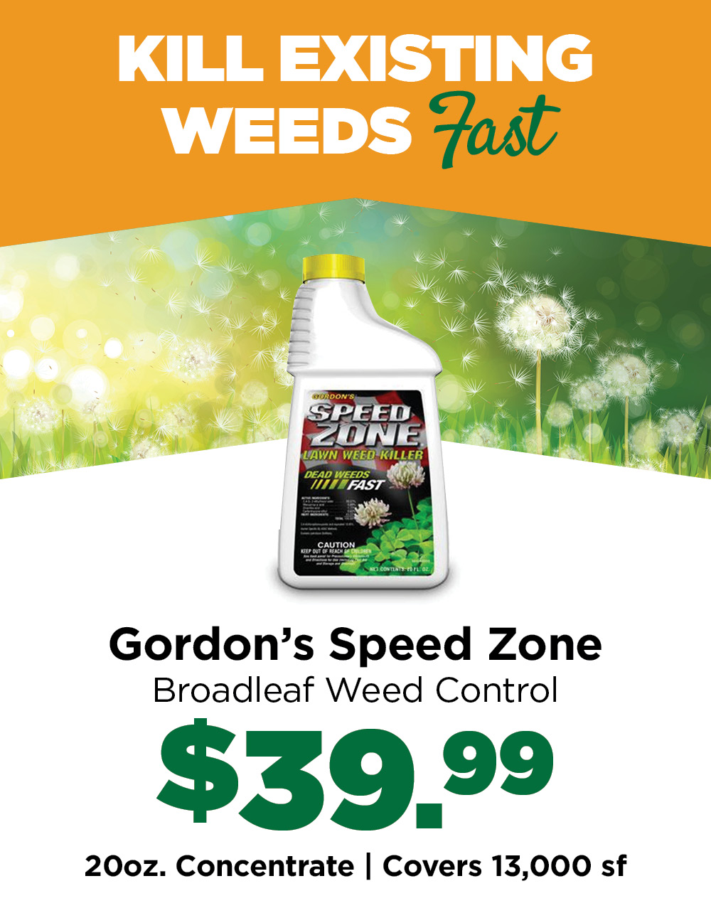 Speed Zone | TLC Garden Centers