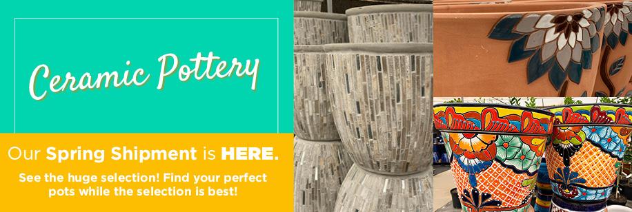 Pottery | TLC Garden Centers