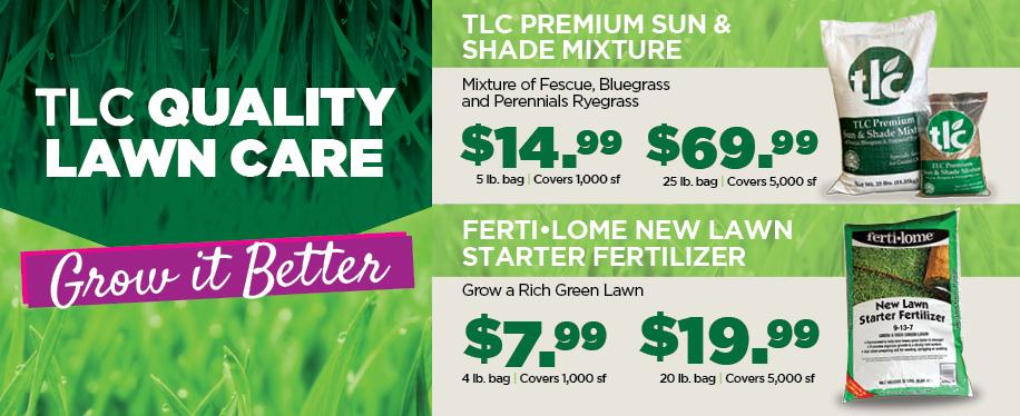Lawn Care | TLC Garden Centers