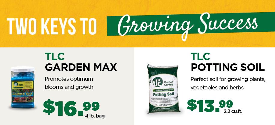 Garden Max Potting Soil | TLC Garden Centers