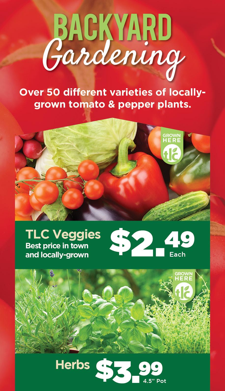 Backyard Gardening | TLC Garden Centers