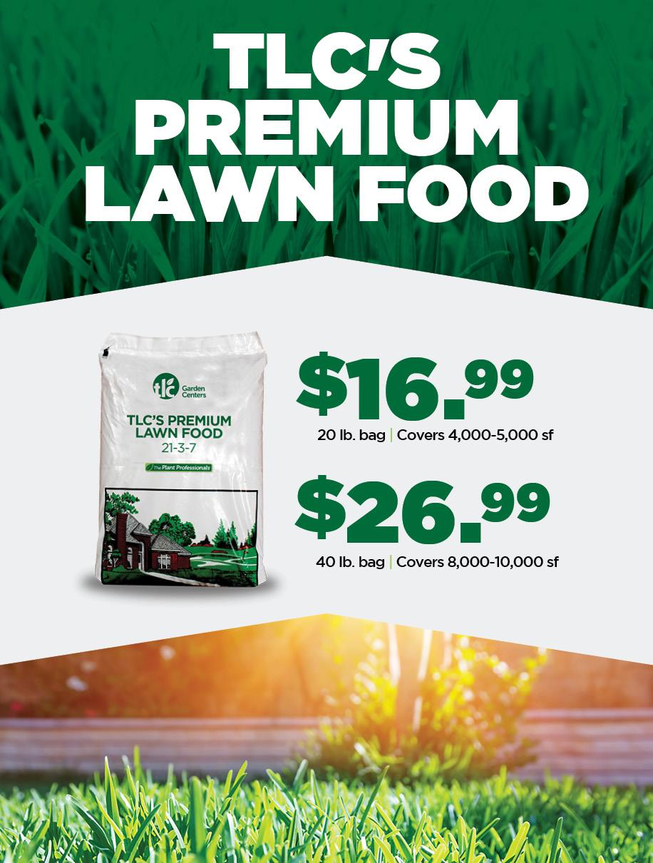 TLC Lawn Food | TLC Garden Centers