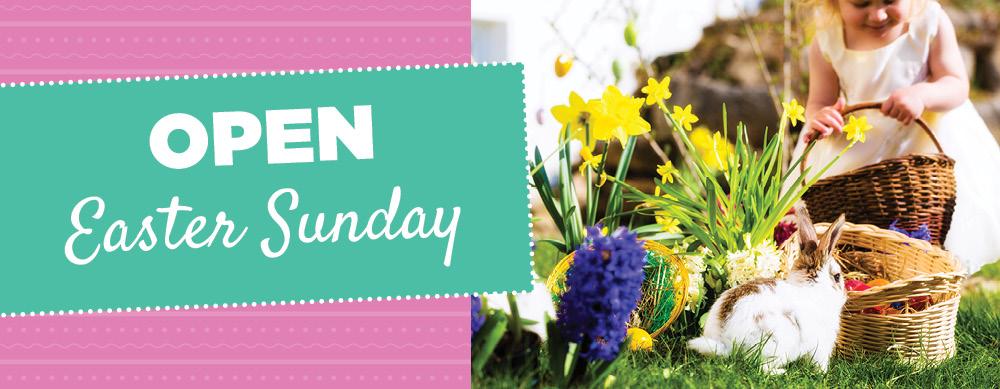 Open Easter | TLC Garden Centers