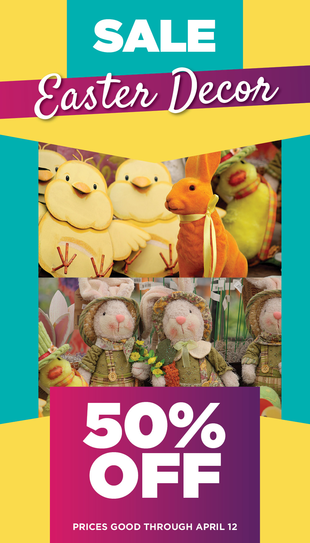 Easter Decor Sale | TLC Garden Centers