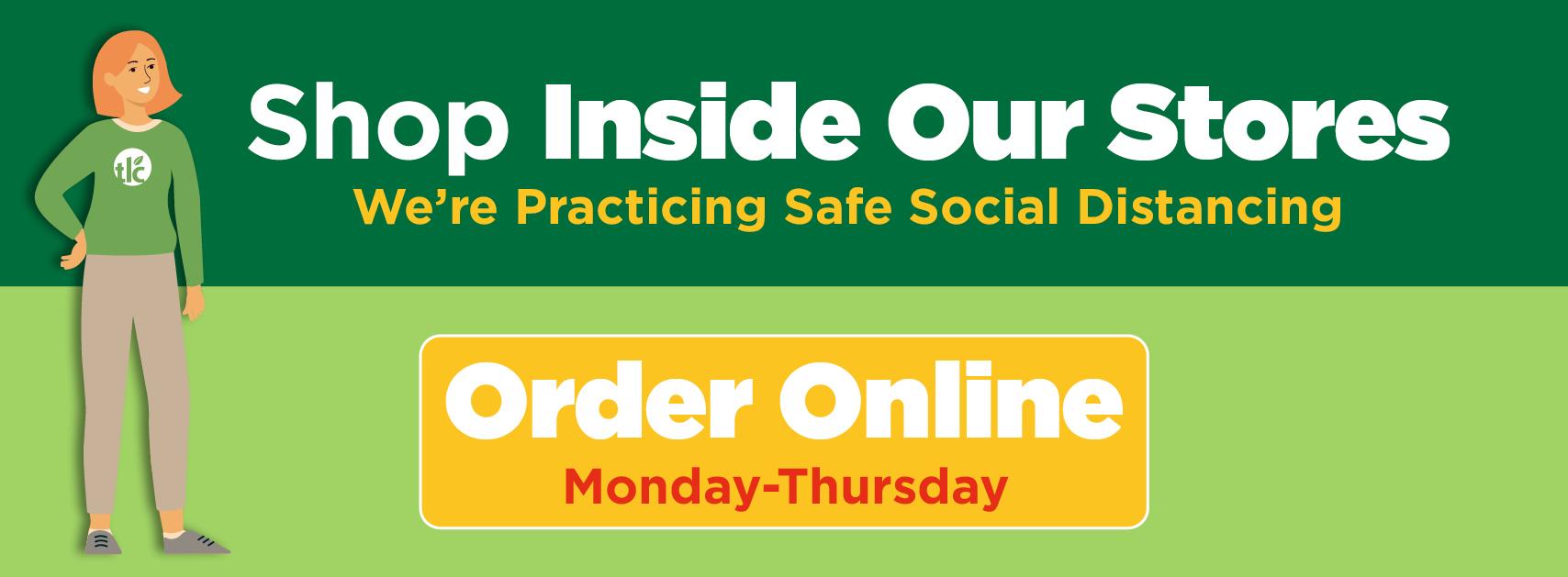 Shop in stores or online | TLC Garden Centers