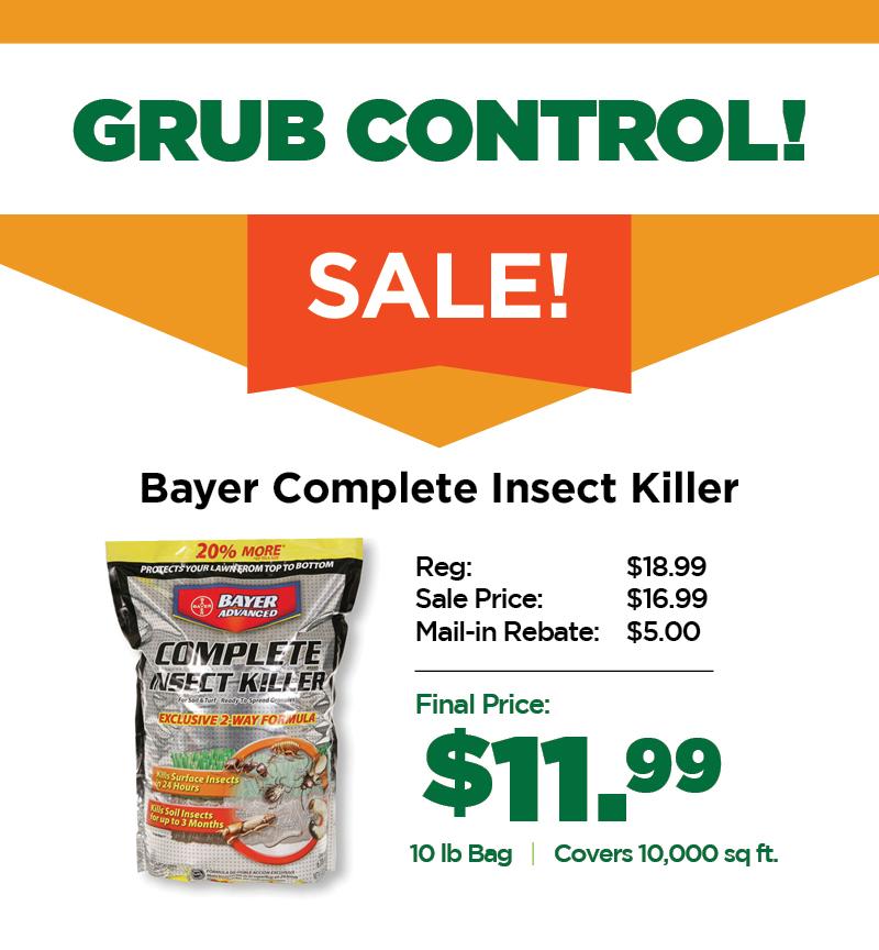 Grub Control | TLC Garden Centers