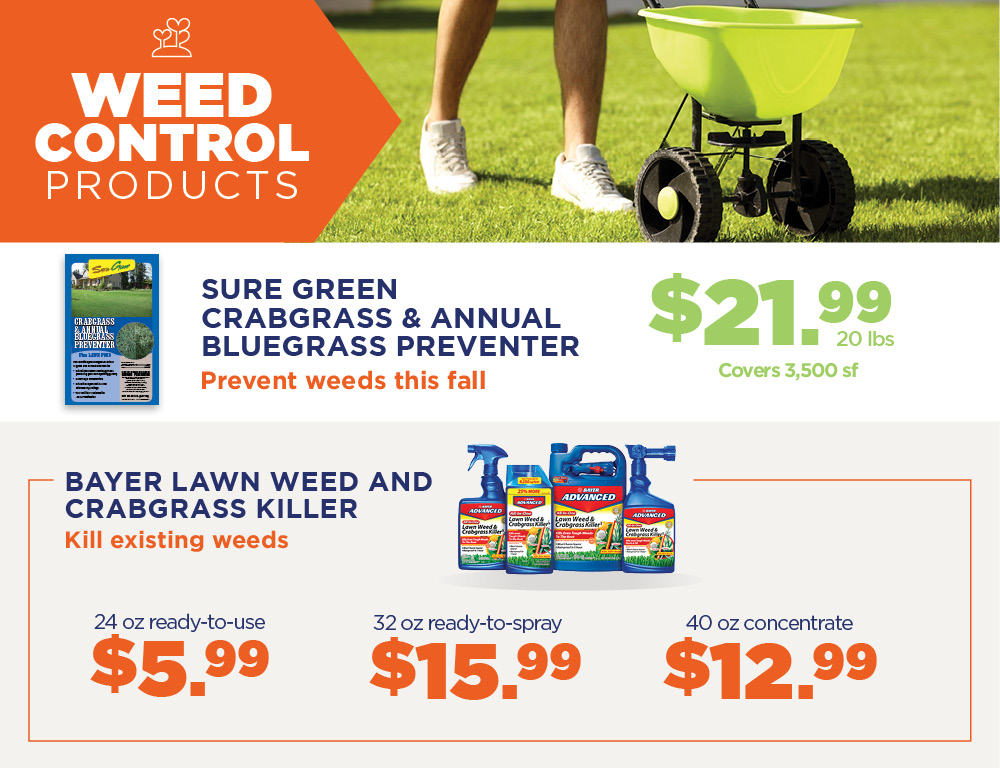 Weed Control | TLC Garden Centers
