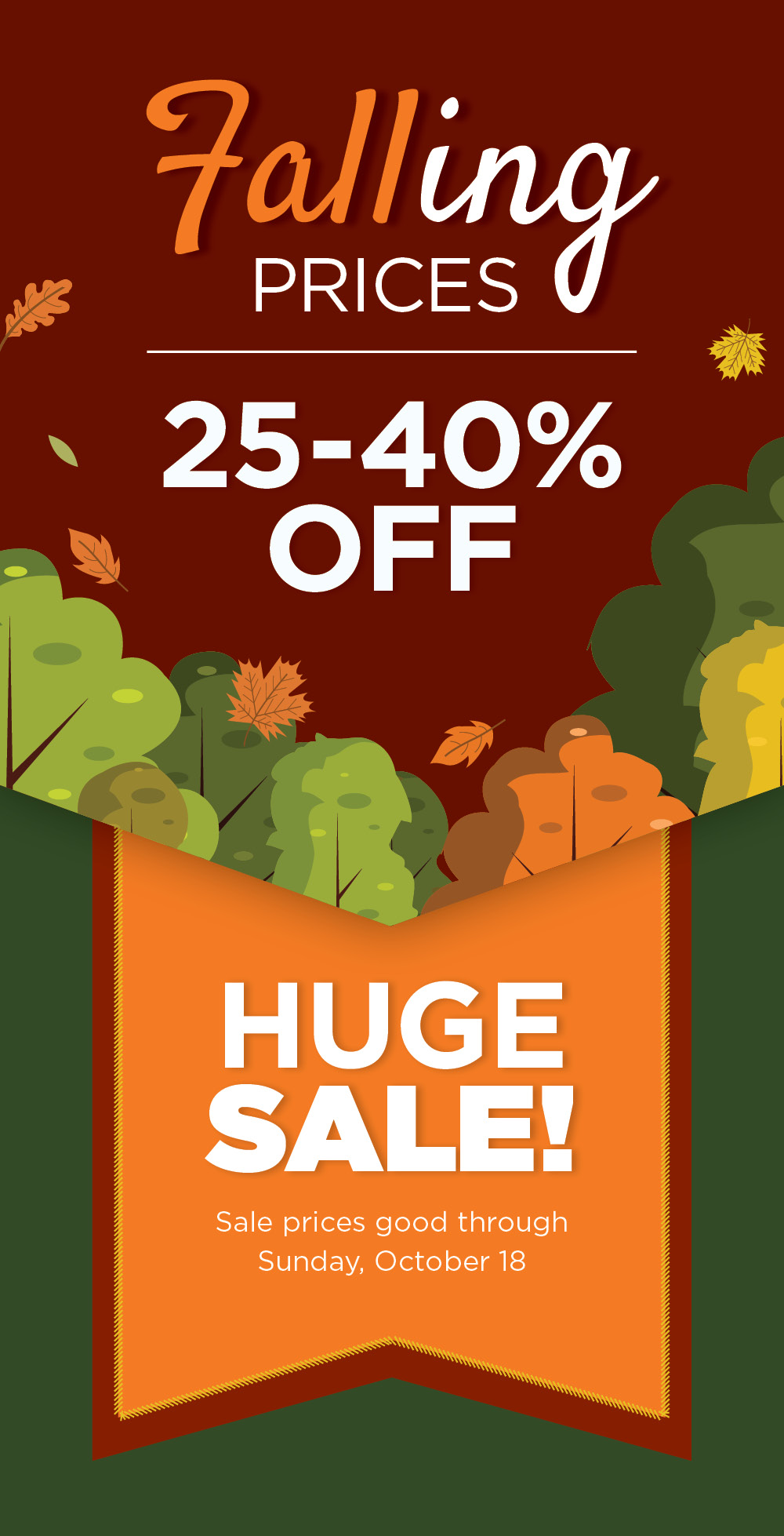 Fall Sale | TLC Garden Centers