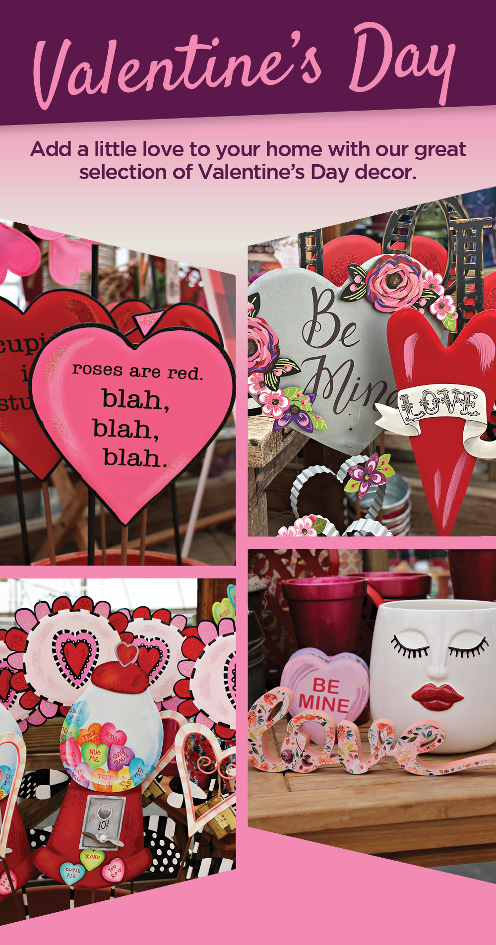 Valentine's Day Decor | TLC Garden Centers