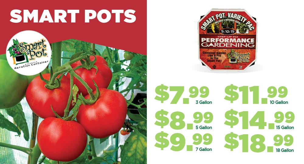 Smart Pots | TLC Garden Centers