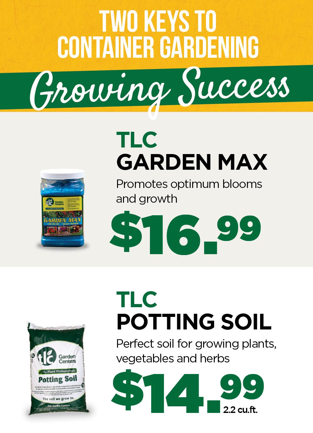 Garden Max | TLC Potting Mix