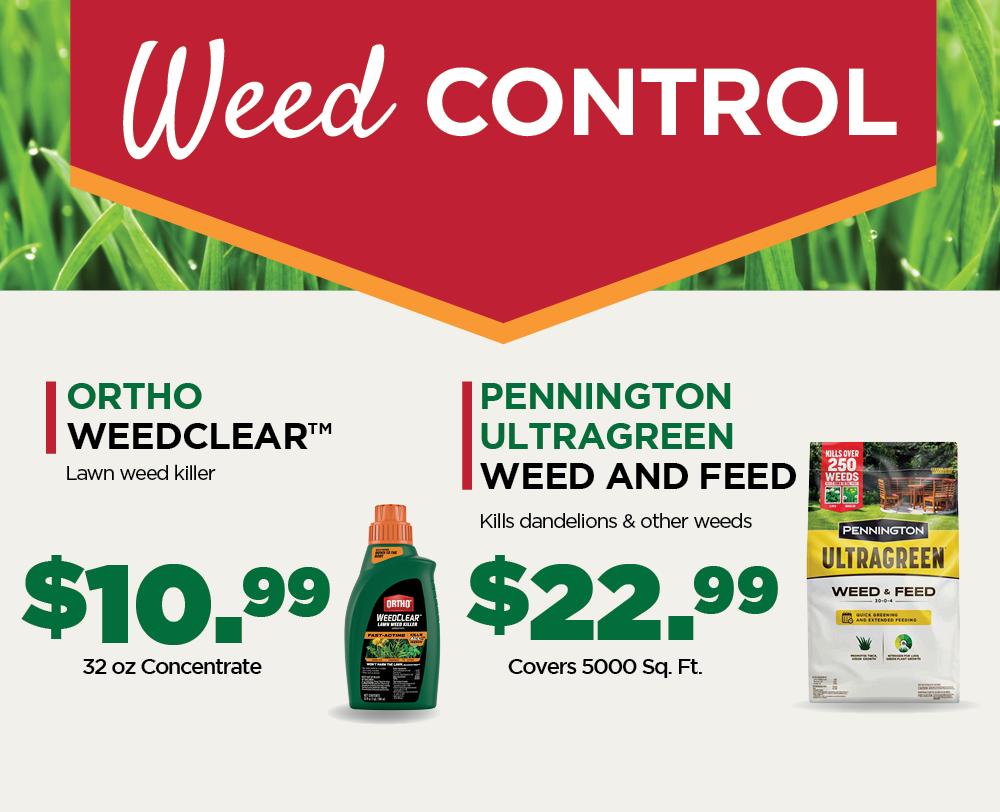 Weed Control | TLC Garden Centers