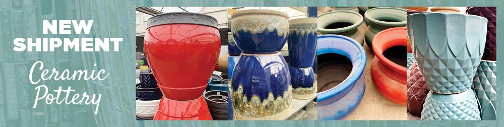 Ceramic Pottery | TLC Garden Centers